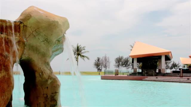luxury summer resort - summer resort stock videos & royalty-free footage