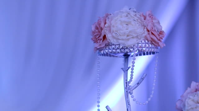 Luxury wedding flowers decoration