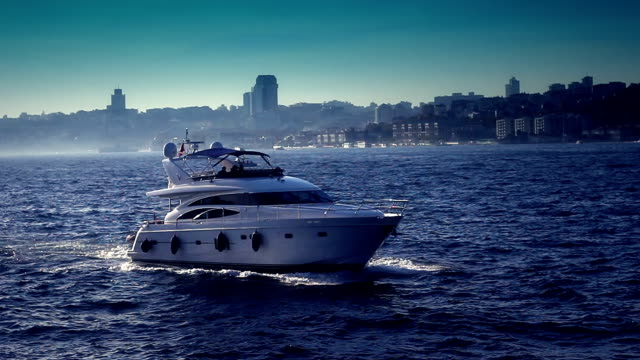 luxury yacht - segeljacht stock-videos und b-roll-filmmaterial