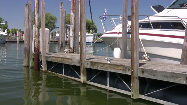 luxury yachts & private boats sailing. nautical vessels, harbor - marina stock videos & royalty-free footage