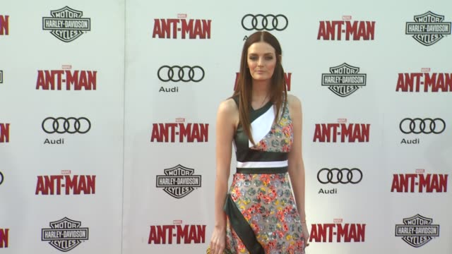 Lydia Hearst at The World Premiere of Marvel's AntMan at Dolby Theatre on June 29 2015 in Hollywood California