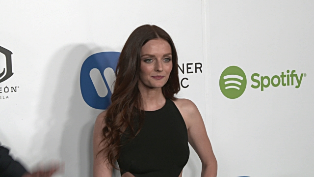 Lydia Hearst at Warner Music Group Hosts Annual Grammy Celebration in Los Angeles CA
