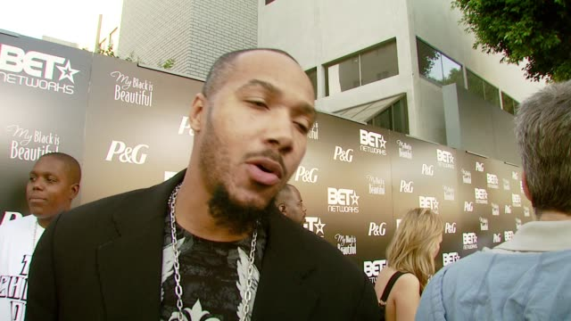 Lyfe Jennings at the PreBET Awards Dinner and Party at Boulevard 3 in Los Angeles California on June 25 2007