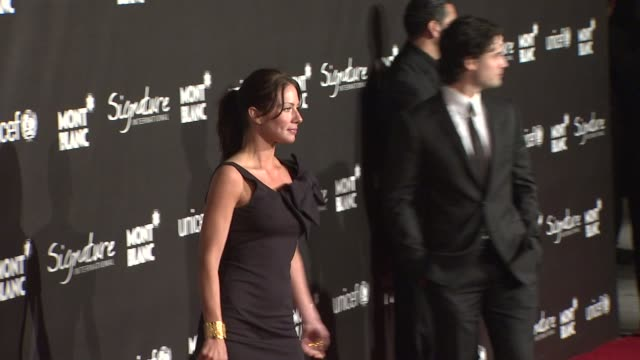 Lynn Collins at the Montblanc Signature for Good Event In Association With UNICEF at Los Angeles CA