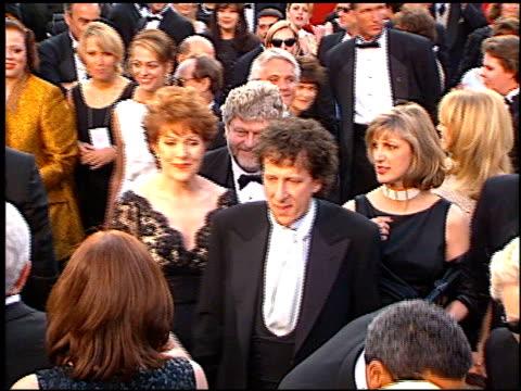 lynn redgrave at the 1997 academy awards arrivals at the shrine auditorium in los angeles, california on march 24, 1997. - oscarsgalan 1997 bildbanksvideor och videomaterial från bakom kulisserna