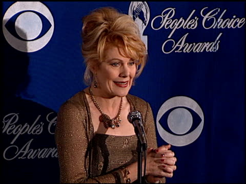 lynn redgrave at the 1999 people's choice awards at the pasadena civic auditorium in pasadena, california on january 10, 1999. - pasadena civic auditorium stock videos & royalty-free footage
