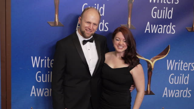 lynn renee maxcy at the 2020 writers guild awards at the beverly hilton hotel on february 01 2020 in beverly hills california - the beverly hilton hotel stock videos & royalty-free footage
