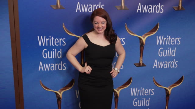 lynn renee maxcy at the 2020 writers guild awards at the beverly hilton hotel on february 01, 2020 in beverly hills, california. - the beverly hilton hotel stock videos & royalty-free footage