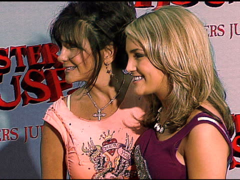 lynn spears and jamie lynn spears at the 'monster house' los angeles premiere on july 18 2006 - 2006 stock videos & royalty-free footage
