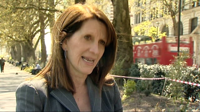 lynne featherstone mp interview sot michael gove mp interview sot reporter to camera - mp stock videos & royalty-free footage