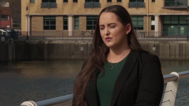 The New IRA apologise to McKee's family and friends for her murder LOCATION Marisa McGlinchey interview SOT