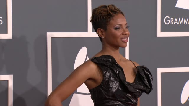 MC Lyte at 54th Annual GRAMMY Awards Arrivals on 2/12/12 in Los Angeles CA