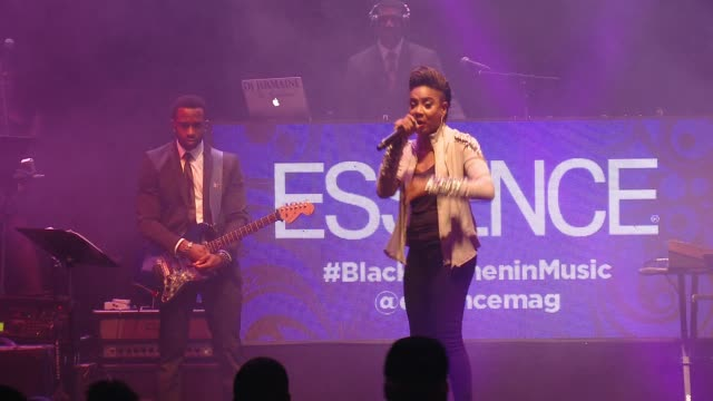lyte at 6th annual essence black women in music event honoring singer/songwriter/storyteller jill scott in los angeles, ca 2/5/15 - storyteller stock videos & royalty-free footage