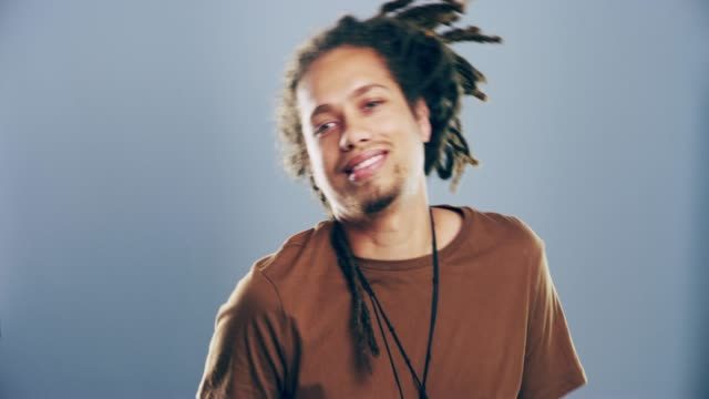 i'm always in the mood to dance - dreadlocks stock videos & royalty-free footage