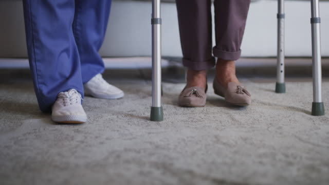 i'm by your side every step of the way - sheltered housing stock videos & royalty-free footage