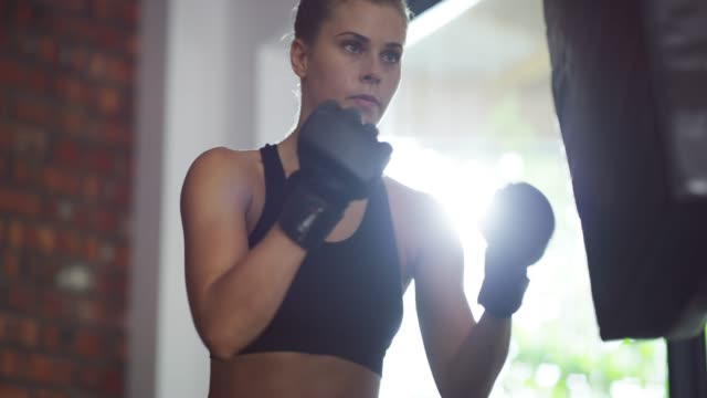 i'm going to fight for the life i deserve - self discipline stock videos & royalty-free footage