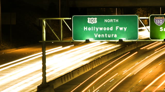 i'm going to hollywood! - time lapse - ventura stock videos and b-roll footage