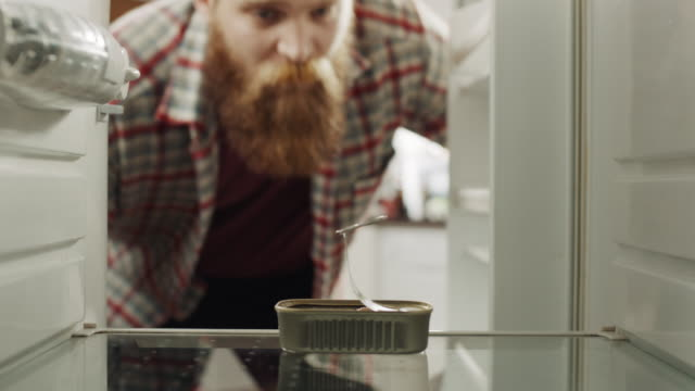 i'm poor! - refrigerator stock videos & royalty-free footage