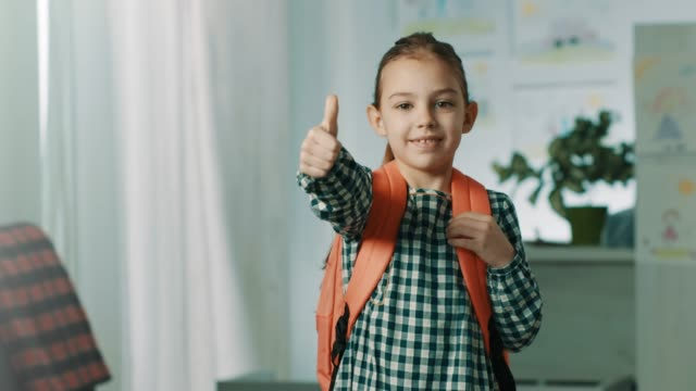 i'm ready for school! - smart stock videos & royalty-free footage