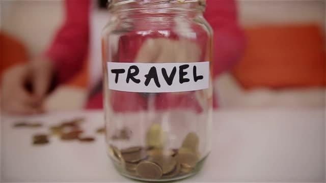 I'm saving money for the trip