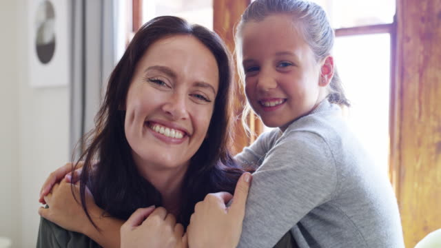 i'm so grateful for my daughter - family portrait stock videos & royalty-free footage