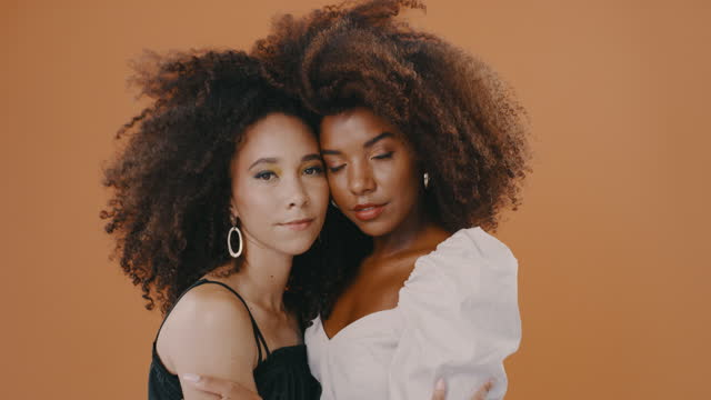 i'm so lucky to have a sister like you - natural hair stock videos & royalty-free footage