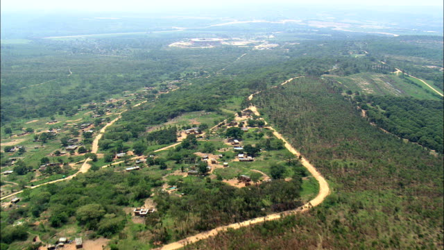 Macadamia And Fruit Plantations  - Aerial View - Mpumalanga,  Ehlanzeni District,  Mbombela,  South Africa