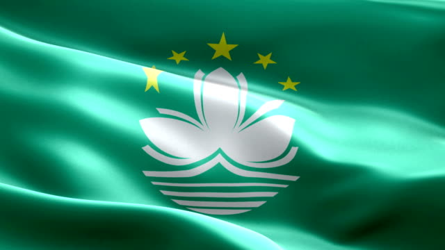 macao flag - macao flag stock videos and b-roll footage