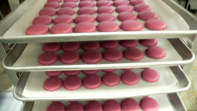 macaroons tilt - macaroon stock videos and b-roll footage