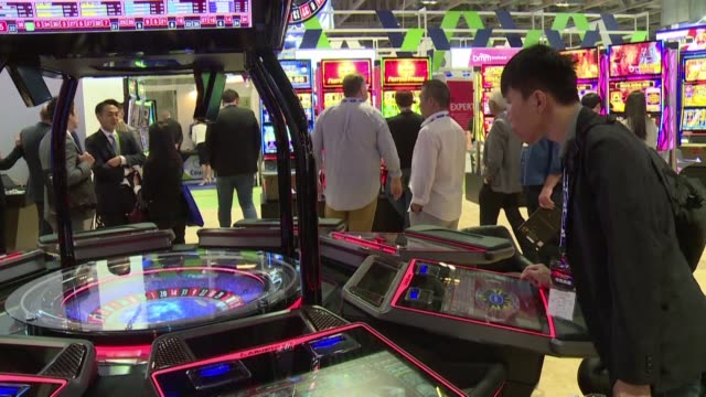 macau announces it will temporarily close down all casinos as the gambling hub battles the new coronavirus cutting off the lifeblood of the city's... - macao stock videos & royalty-free footage