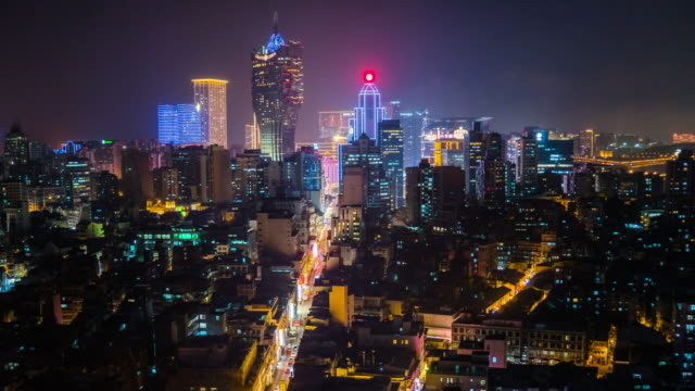macau cityscape at night time