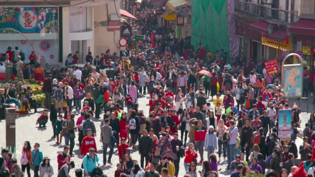 Macau Crowds