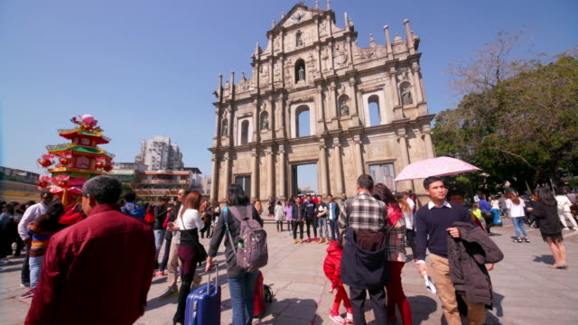 Macau Crowds