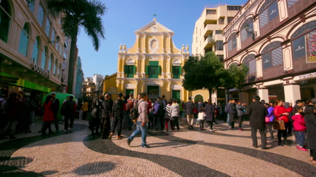 macau crowds - macao stock videos & royalty-free footage