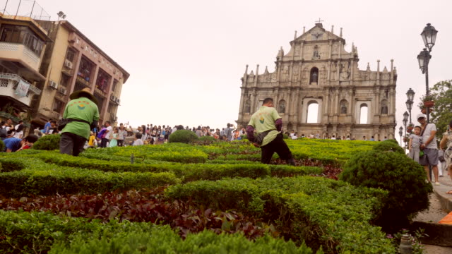 Macau Ruins of St. Paul's Church