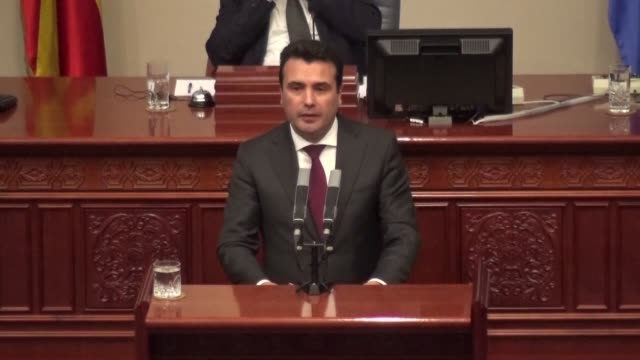 Macedonian Prime Minister Zoran Zaev calls the Parliament to break down the country's isolation walls by voting in favour of changing its name as...