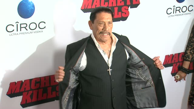 CLEAN Machete Kills Premiere EVENT CAPSULE CLEAN Machete Kills Premiere at Regal Cinemas LA Live on October 02 2013 in Los Angeles California