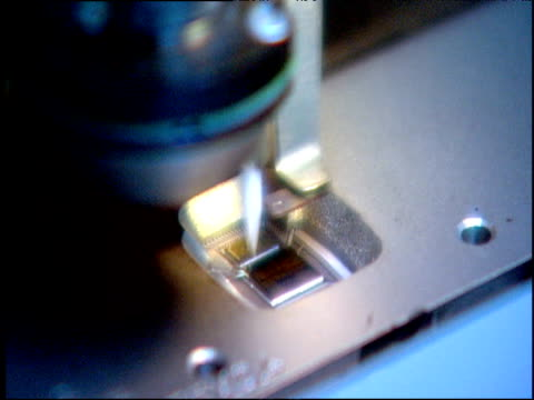 Machine creating silicon chip