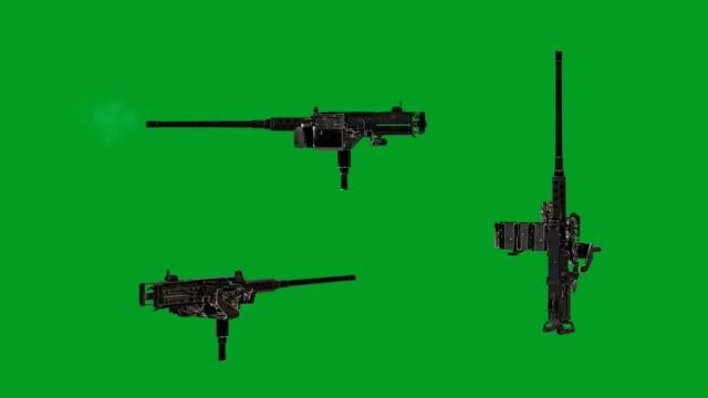 m2 machine gun - machine gun stock videos and b-roll footage