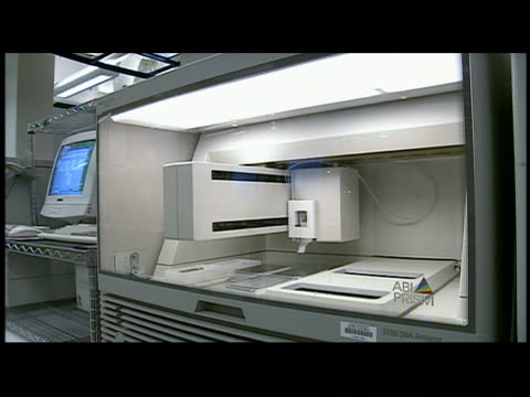 MS machine in genetics lab