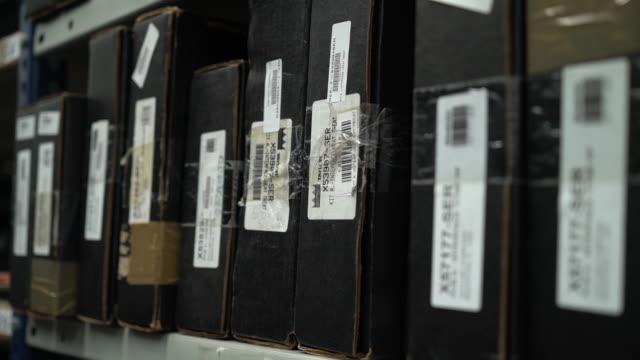機械産業倉庫 - warehouse点の映像素材/bロール