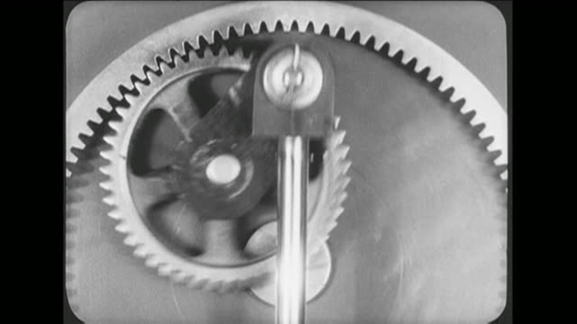 cu machine parts in motion - cog stock videos & royalty-free footage