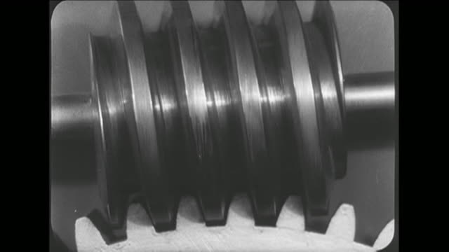 CU Machine parts in motion