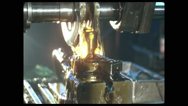 machine shop lubrication seen from below - lubrication stock videos & royalty-free footage
