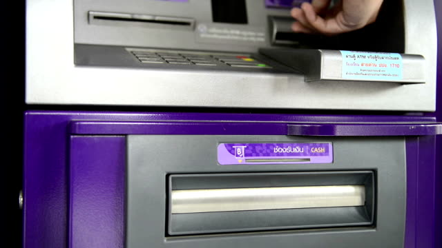 atm machine - pin entry stock videos & royalty-free footage