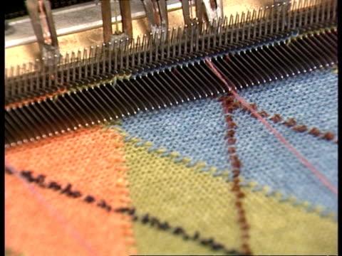 CU Machine weaving patterned jumper