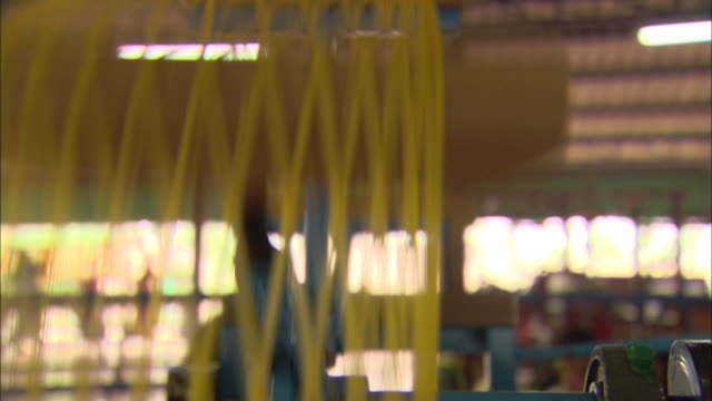 machinery loops threads of silk. - loopable moving image stock videos & royalty-free footage
