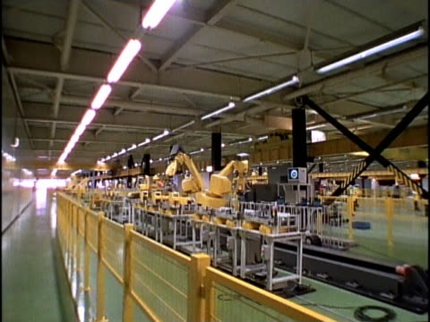 MS, DS, Machines in factory