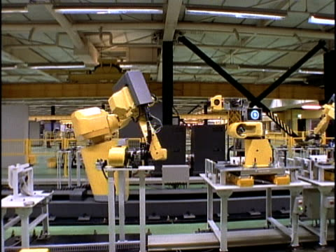 MS, PAN, Machines in factory
