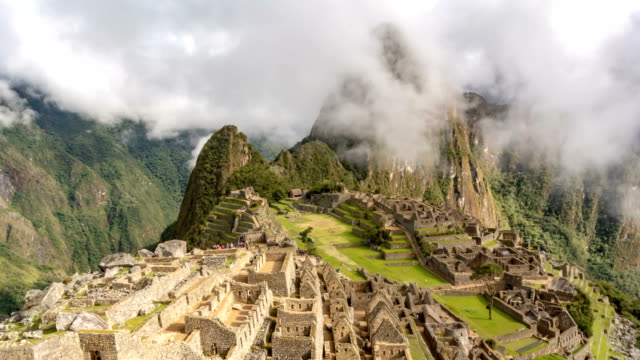 machu picchu 4k - unesco world heritage site stock videos & royalty-free footage